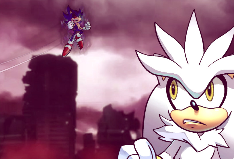 Silver vs Sonic EXE by yugiohplayer on DeviantArt