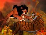 Scar vs Shere Khan