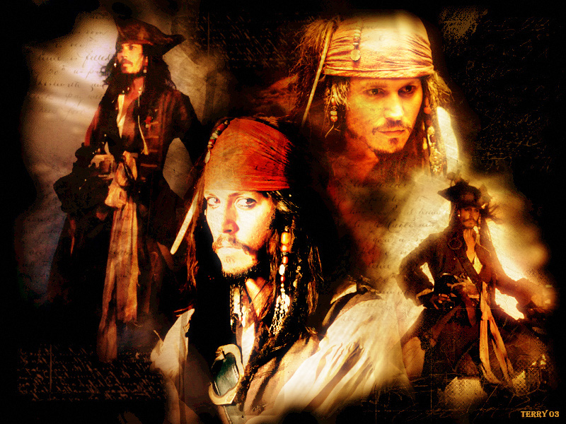 Capt Jack Sparrow Wallpaper by TerryXart on DeviantArt