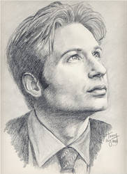 Fox Mulder, FBI by TerryXart