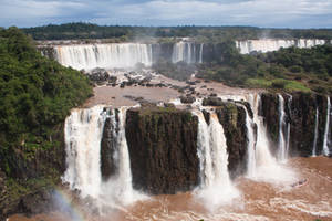 iguazu falls 1 by CO2PHOTO-stock