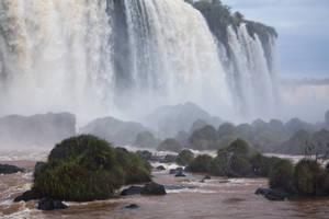 iguazu falls 2 by CO2PHOTO-stock