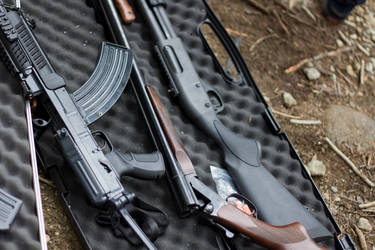 Guns - Stock by CO2PHOTO-stock