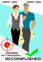 Agents 300-250: Groceries by zazkinha