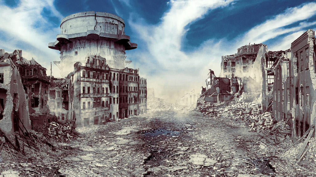 City of rubble by vukkart