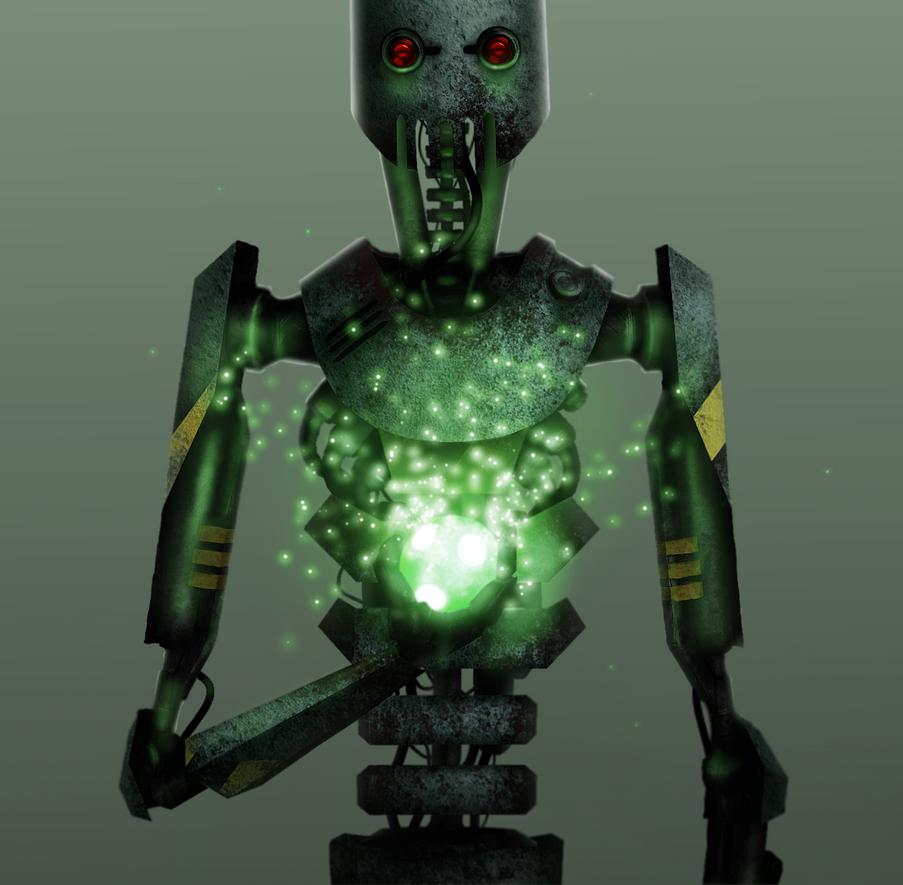 Robot ver.2 by vukkart