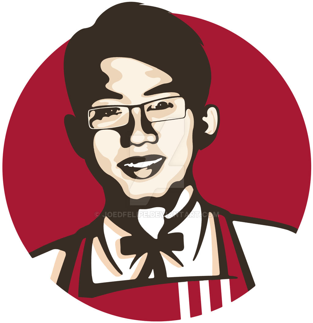 KFC-themed Vector Portrait by joedfelipe on DeviantArt