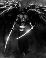 Fallen Angel by davstr