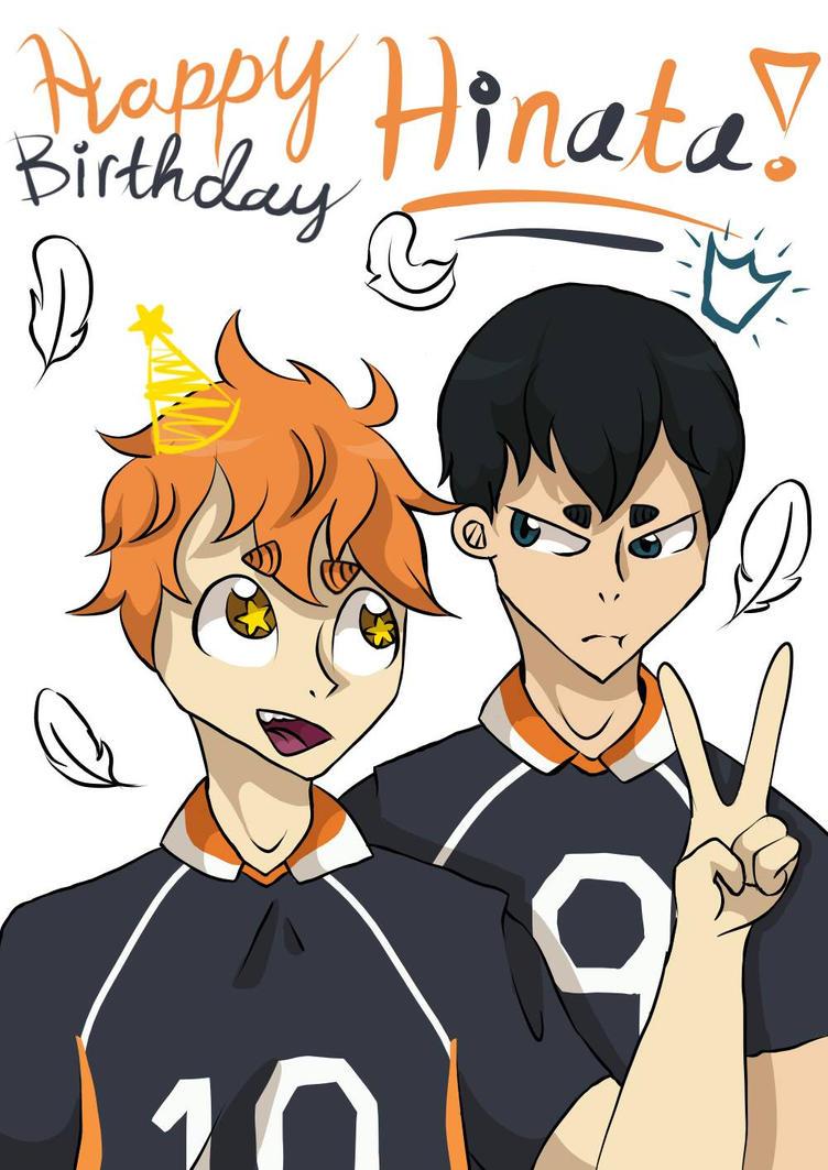 Happy Birthday Hinata! by LucyTheKat