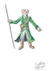 Therai, the Tiefling Wizard