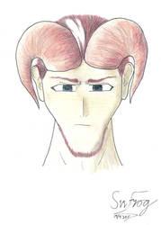 Therai, Tiefling Wizard, Face