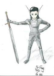 Lija the Warrior