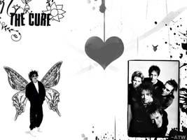The Cure BW by XxWeirdOxX