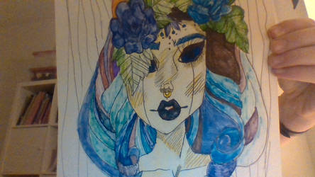 My First 2 Days Art by starbloodYoutube