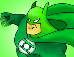 the green bat by omegaproductions