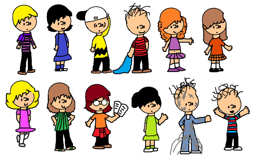 Peanuts Characters Older By PicklePieCow On DeviantArt