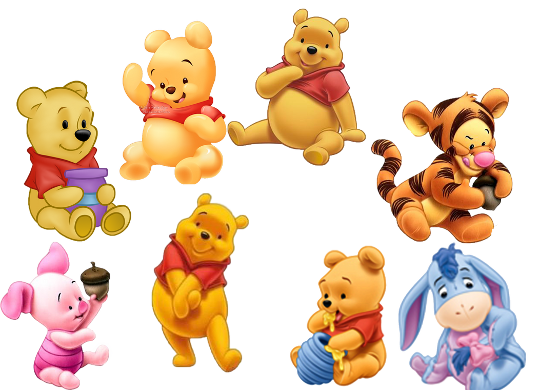 Buy Winnie The Pooh In Honey Cake Topper Bjs
