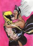 Primera Vez- Wolverine x Storm by fairyaya