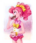 Pinkie and ice cream