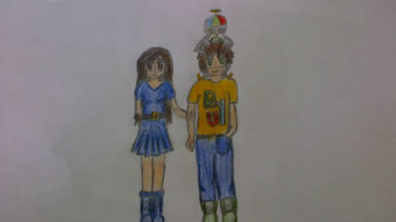 Clara,Luke and Ryu by gabrielalexmonteiro