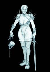 Demoness 12 - barbarian