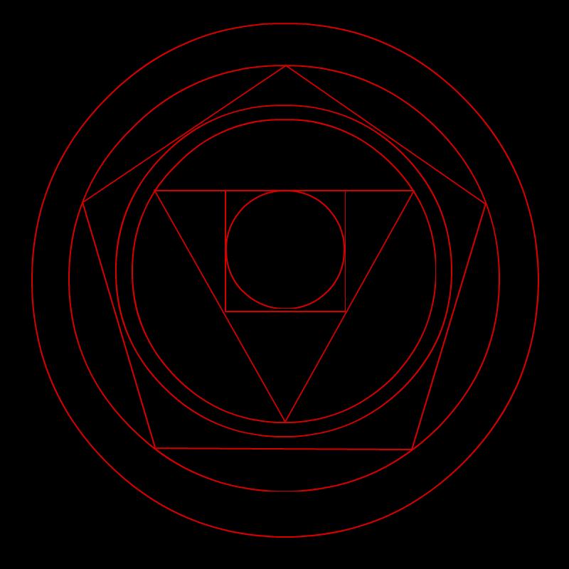Philosopher's Stone Transmutation Circle by STARFINDER2468 ...