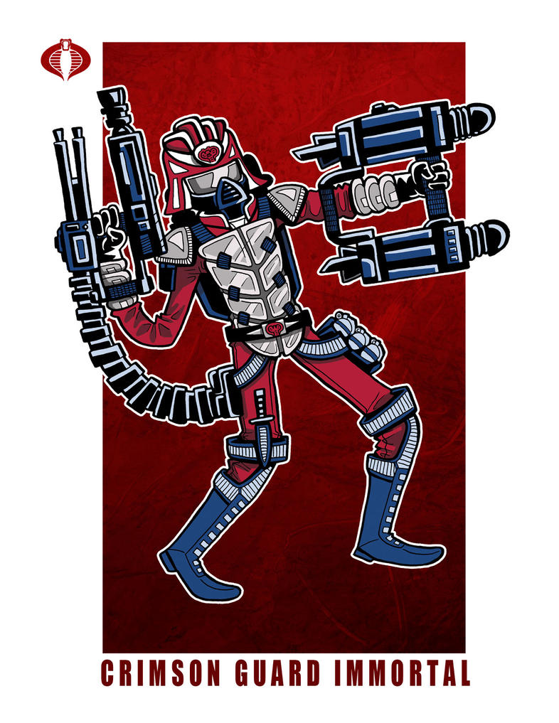 G. I. Joe Fan Art: Crimson Guard Immortal, 2 by ehudsbloodysword