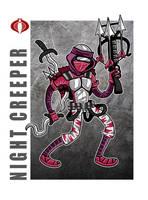 G. I. Joe Fan Art: Night Creeper by ehudsbloodysword