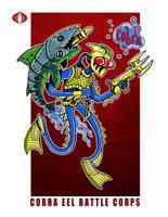 G. I. Joe Fan Art: Cobra Eel by ehudsbloodysword
