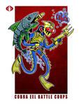 G. I. Joe Fan Art: Cobra Eel