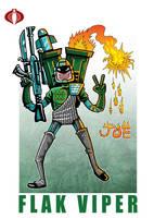 G. I. Joe Fan Art: Flak Viper by ehudsbloodysword