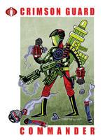 G. I. Joe Fan Art: Crimson Guard Commander by ehudsbloodysword