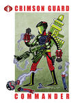 G. I. Joe Fan Art: Crimson Guard Commander