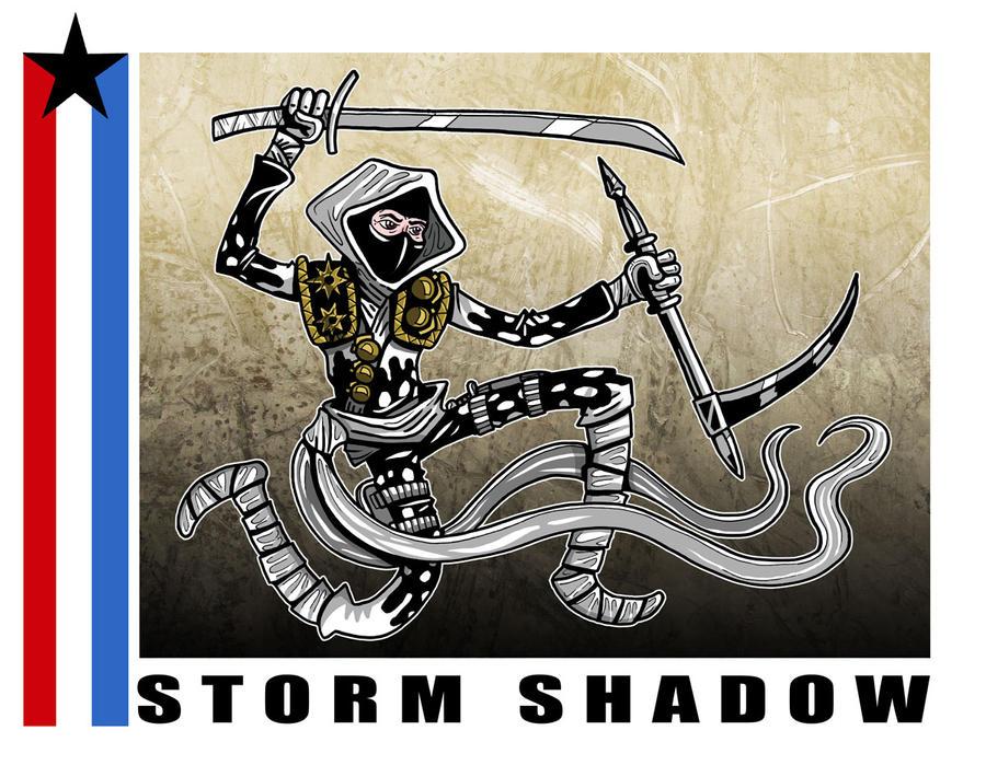 G. I. Joe Fan Art: Storm Shadow by ehudsbloodysword