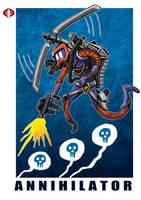 G. I. Joe Fan Art: Annihilator by ehudsbloodysword