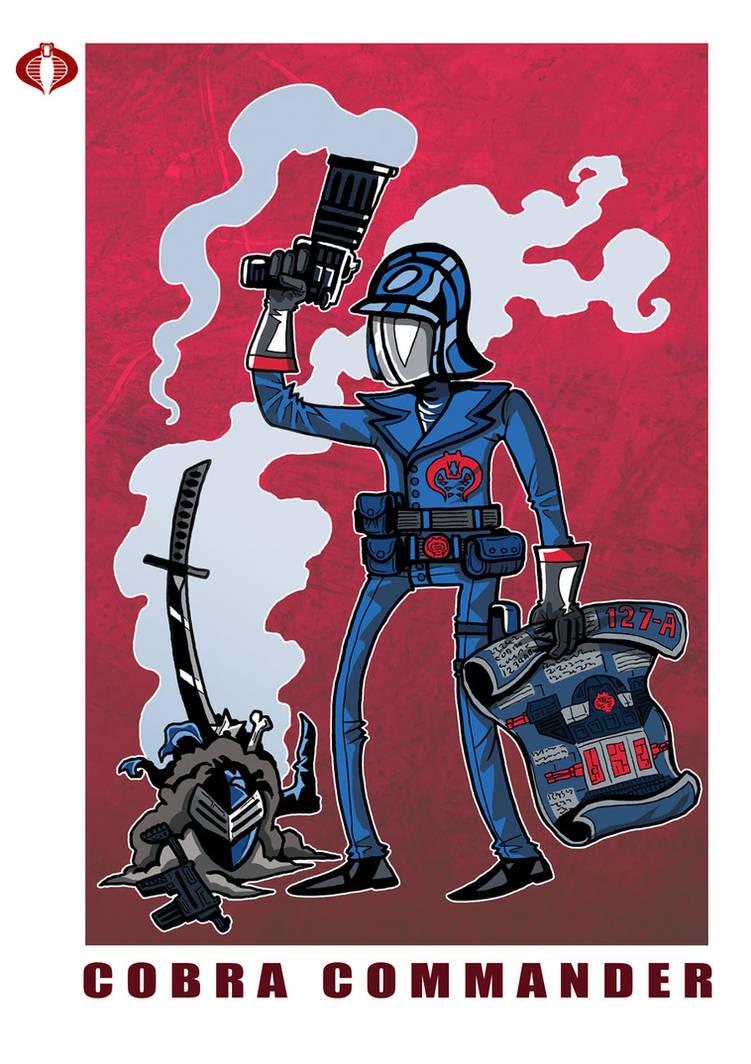 G. I. Joe Fan Art: Cobra Commander Classic by ehudsbloodysword