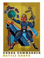G. I. Joe Fan Art: Battle Corps Cobra Commander by ehudsbloodysword