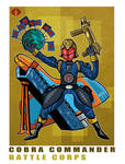 G. I. Joe Fan Art: Battle Corps Cobra Commander
