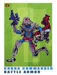 G. I. Joe Fan Art: Battle Armor Cobra Commander