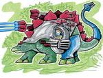 Dino-Rider Stegosaurus