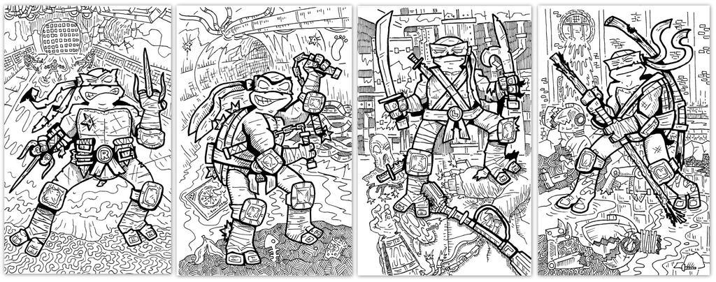 ninja turtles drawing by ehudsbloodysword on deviantart