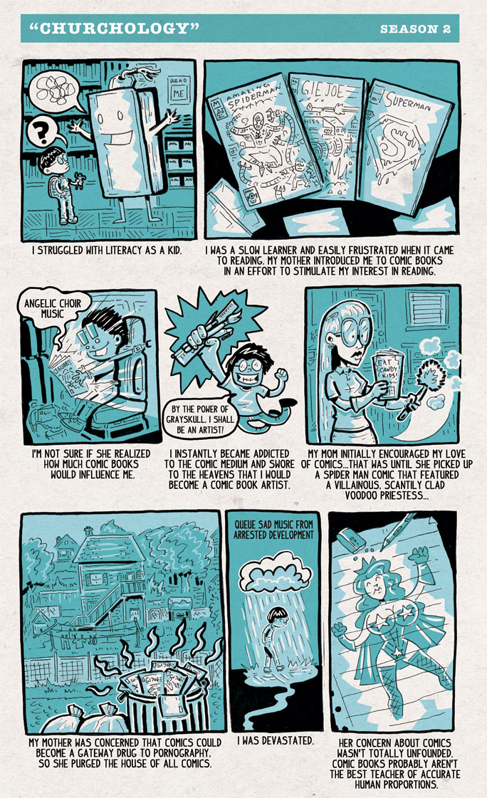 Comics Churchology Season 2 (part 1) by ehudsbloodysword