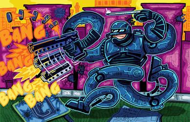 Robocop by ehudsbloodysword