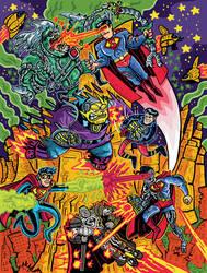 Reign of Supermen poster by ehudsbloodysword
