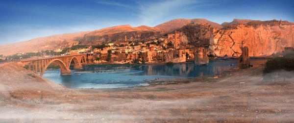 Hasankeyf by bouget