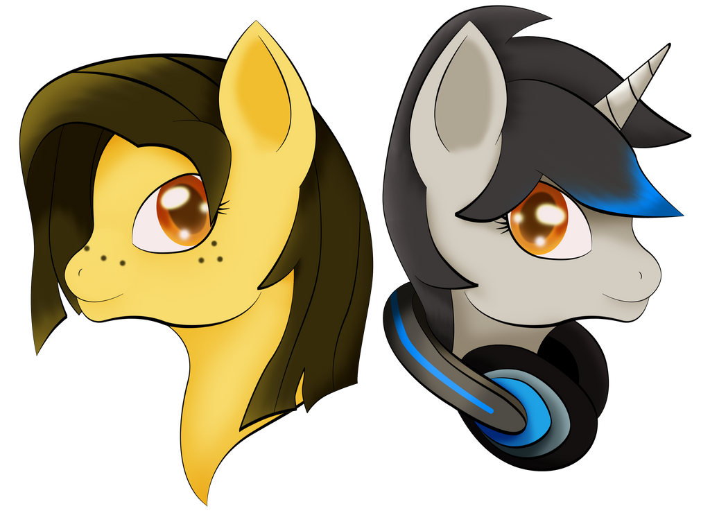 Lyx-D Double Headshot by WhiteCloud72988