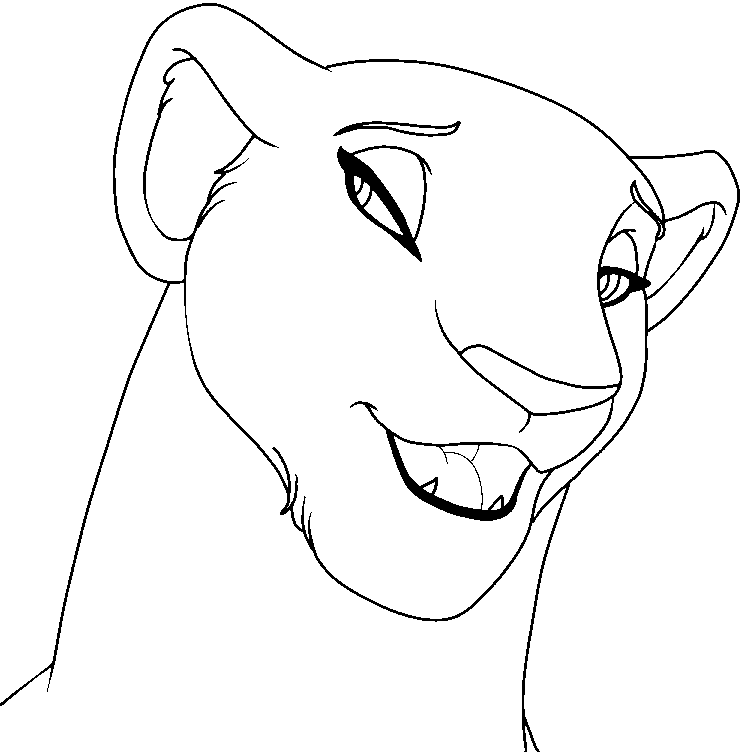 Tlk lioness coloring coloring pages for Lioness coloring pages