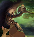 Bambi: Someone is twitterpated