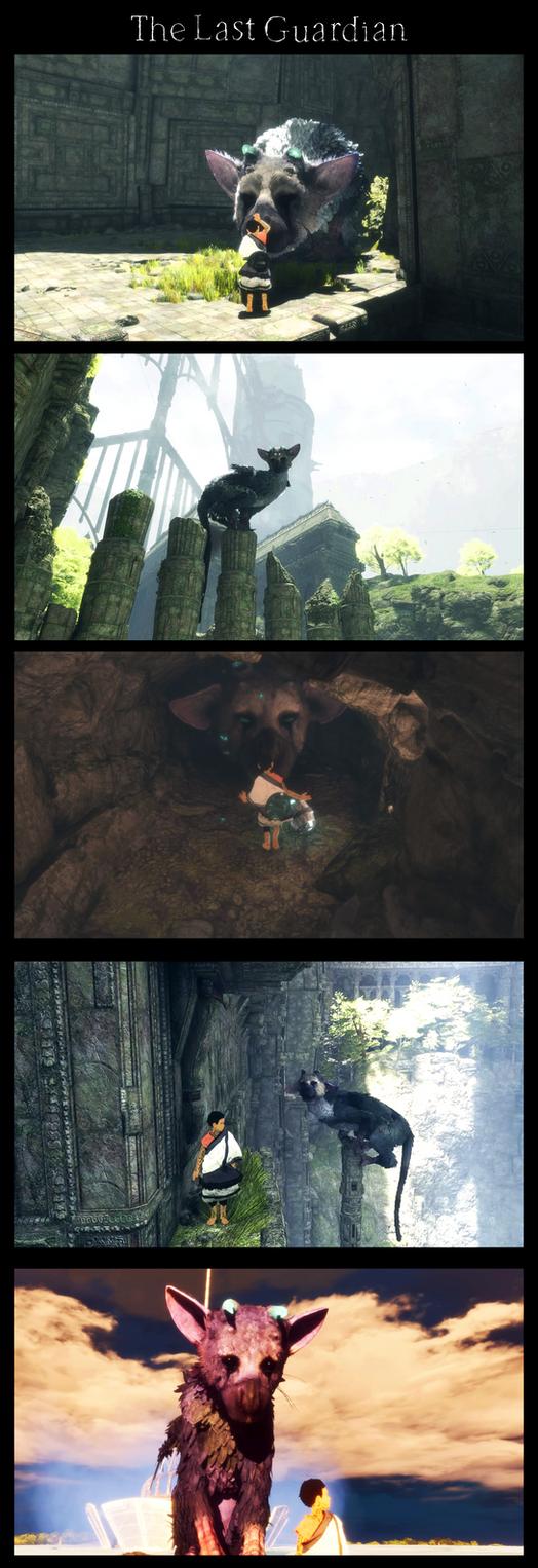 The last guardian : screenshots by Istrandar
