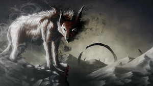 Hound of cinder by Istrandar